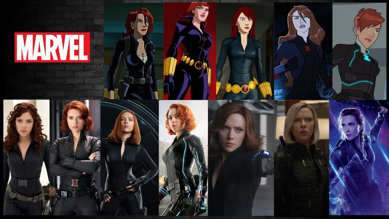 Black Widow Evolution Tv Shows And Movies 2019