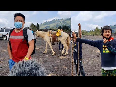 El Volcán Se está Saliendo Fui a Ver GUATEMALA
