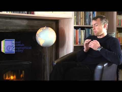 Leo Houlding Interview with the Royal Scottish Geographical Society HD