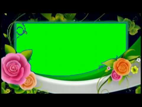 Green screen croma with animation frames for adobe premier, ulead ...