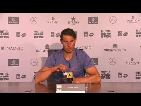 Rafael Nadal Press conference / QF 2018 Madrid Open