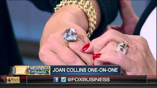 Items from Joan Collins' collection hit the auction block