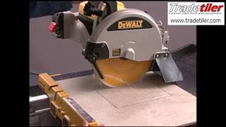 Dewalt D24000 Electric Tile Cutter - Tradetiler