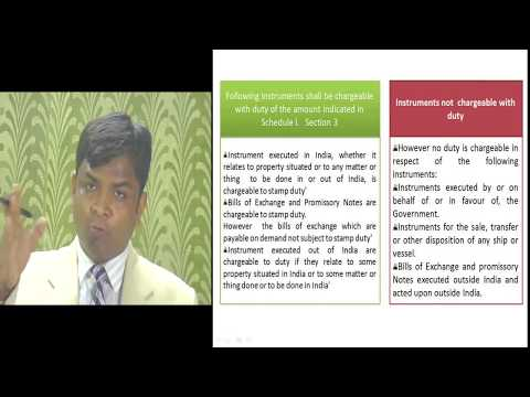CS Executive Economic Law CS N K Singh Stamp Act 1899