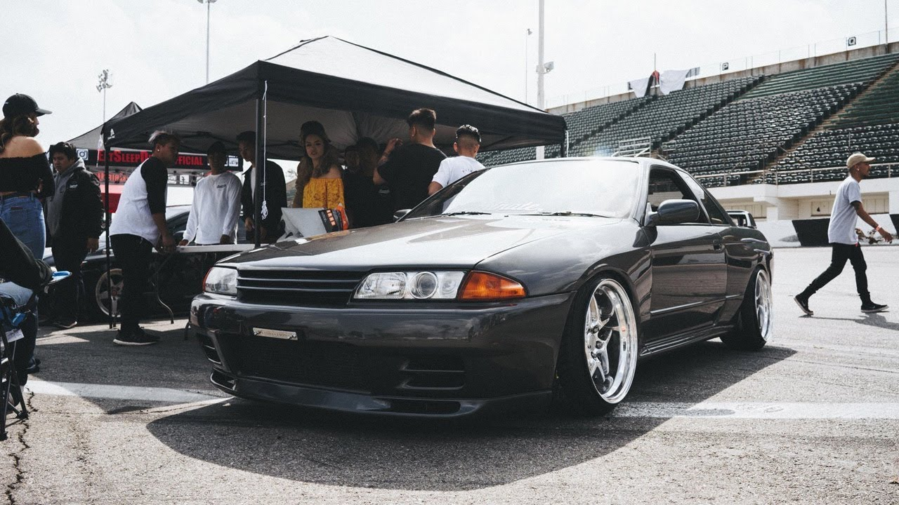 Tuned In Tokyo >> R32 GTR's First Car Show! TUNED IN TOKYO! - YouTube