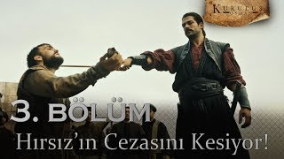Osman Bey, Hırsız'ın cezasını kesiyor - Kuruluş Osman 3. Bölüm