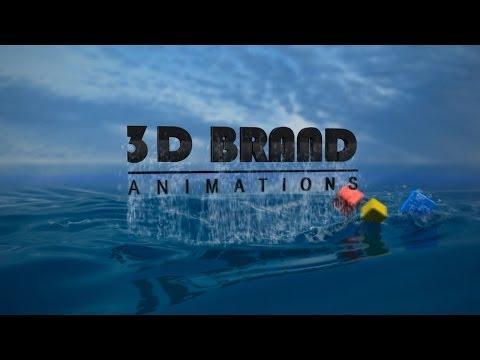 3D Brand Animations  - 3D Logo Animation Variation #5
