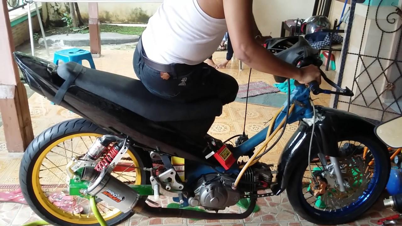 road race motor balap jupiter z dihangatin mp4 - youtube