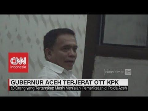 Gubernur Aceh Irwandi Yusuf Terjerat OTT KPK