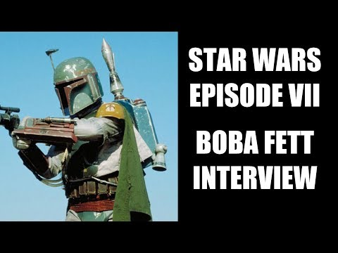 Star Wars Episode 7 Boba Fett Interview - Jeremy Bulloch