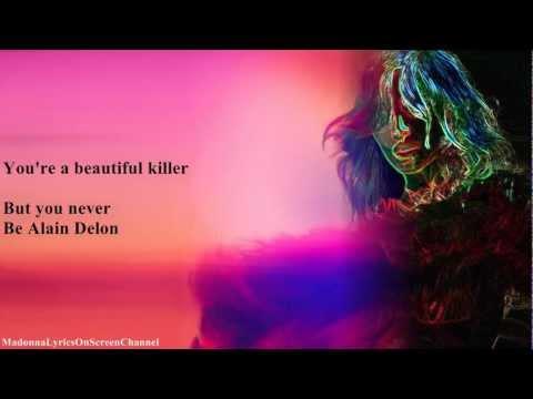 Madonna - Beautiful Killer (Lyrics On Screen)