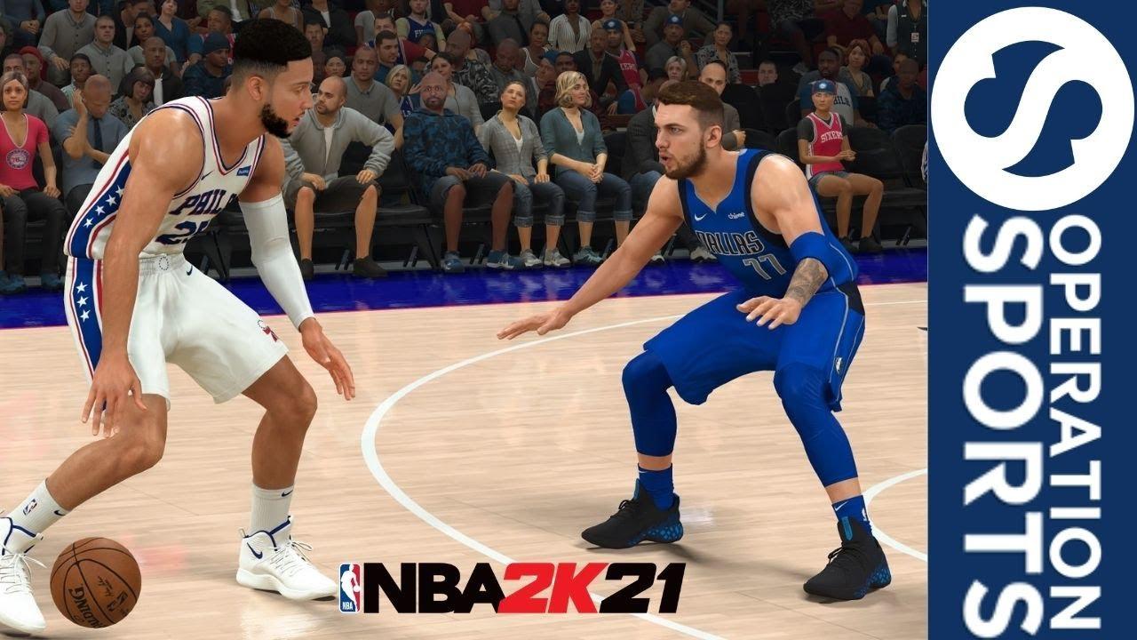 NBA 2K21 Gameplay: Dallas Mavericks Vs. Philadelphia 76ers (PS4)