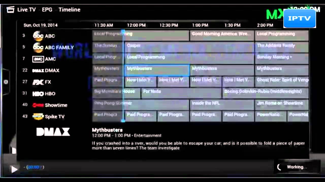 Fully Loaded Android TV MXQ LIVE IPTV 1200+ Channels 2014/ 2015