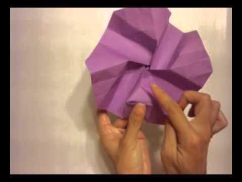 How to make a Kawasaki Origami Rose