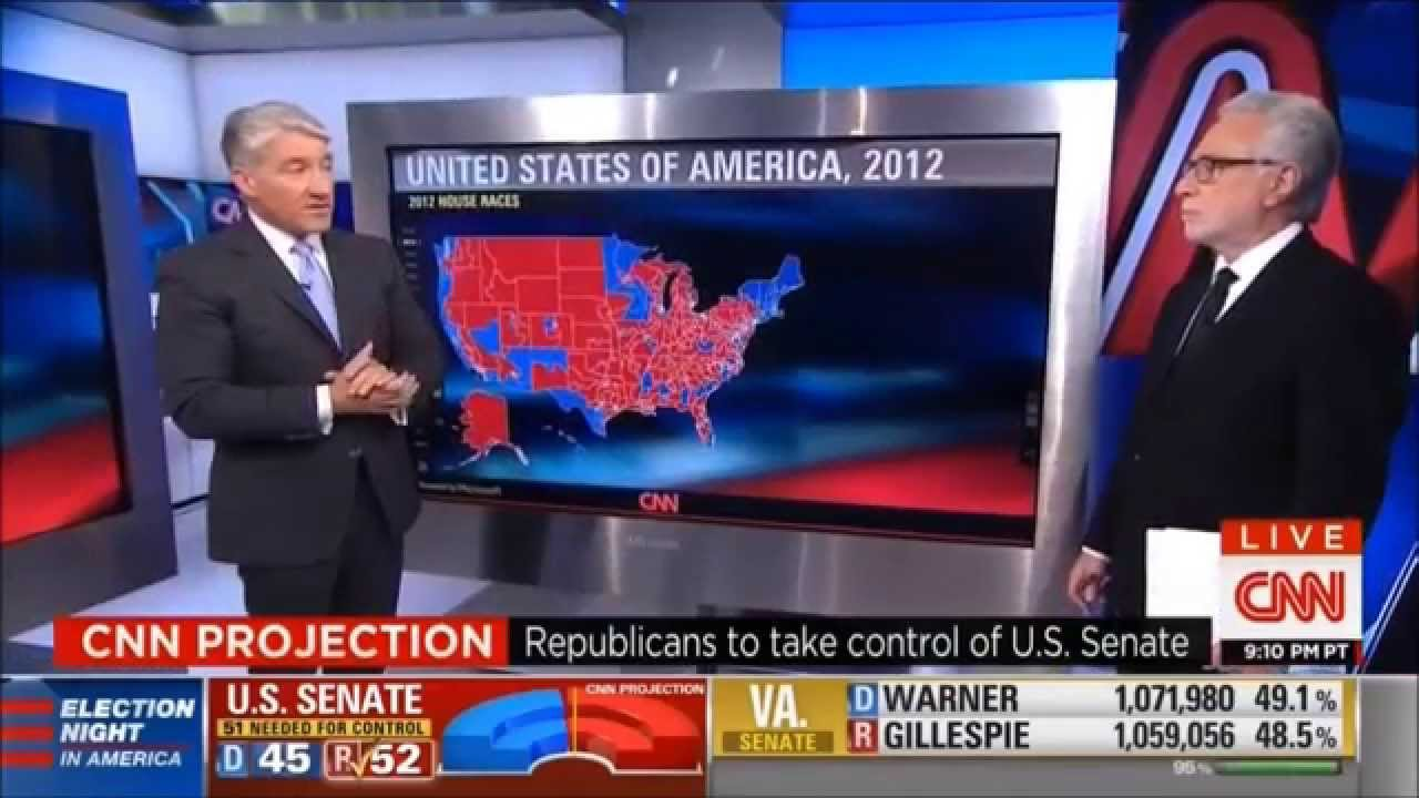 CNN's Election Night In America Coverage (Midnight Hour ...