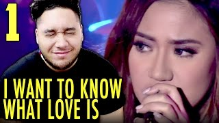 Morissette Amon - I Want To Know What Love Is (Mariah Carey Cover) | MYX Live REACTION!!!