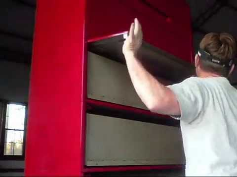 Transform Heavy Duty Filing Cabinet To Tool Box Youtube