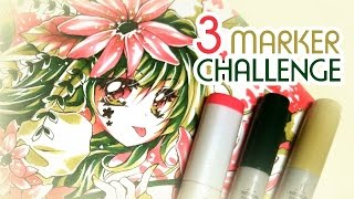 3 MARKER Challenge | GER Dub | ENG Sub