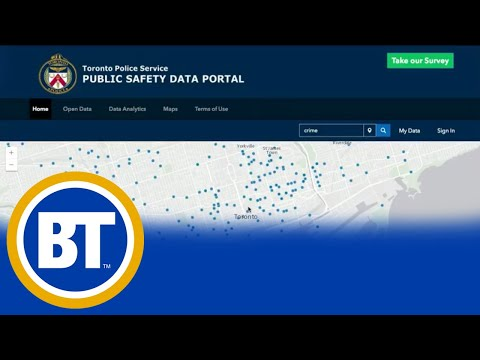 New safety data portal from Toronto police shares crime congestion map