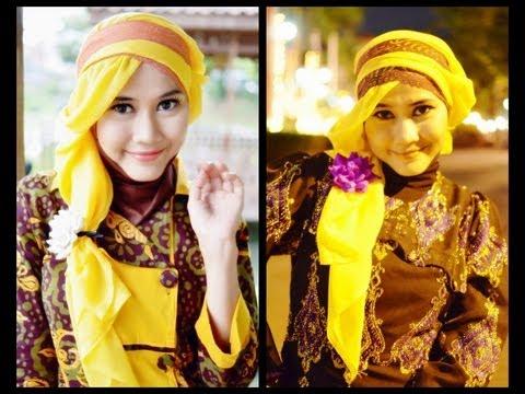 Tutorial Hijab Modern Paris | Princess Rapunzel-Like  By Didowardah - Part #26