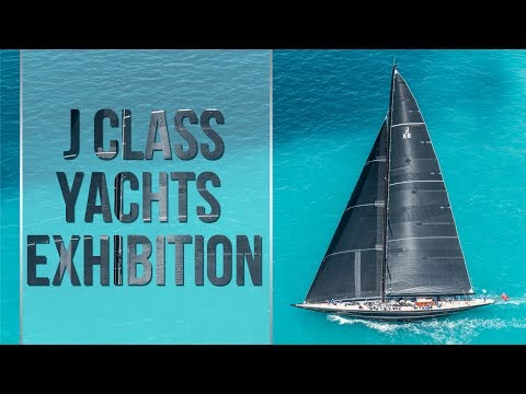 J Class Yachts Sail In Bermuda, June 16 2017