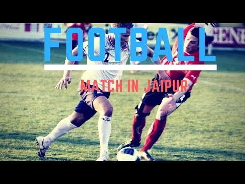 Football match in jaipur (RIET jaipur) sport#13