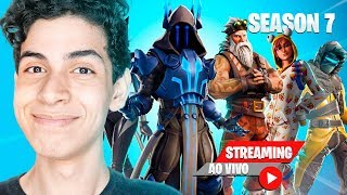 SEASON 7 HAS ARRIVED!! AND ZEREI THE BATTLE PASS-DBRSTREAM (FORTNITE)