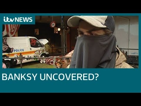 Is this Banksy? ITV uncovers lost footage of the graffiti artist | ITV News