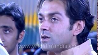 Shooting of Chor Machaye Shor: Bobby Deol, Shilpa Shetty, Bipasha Basu, Om Puri