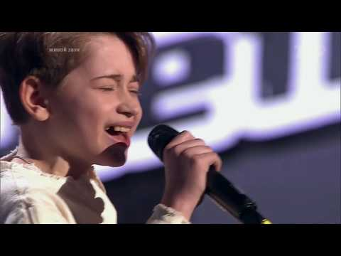 Judges Shocked By Rutger Garecht Amazing Performance. The Voice Kids Russia Blind Auditions.