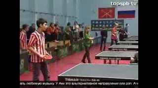 Спартакиада среди учащихся коррекционных учреждений (Настольный теннис)