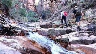 Adventure Hike of Arizona's Devils Chasm:  A Hidden Gem in the Desert
