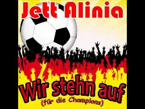 Fussball Hits Em 2020 Song Lied Jett Alinia Wir Stehn Auf Fur Die Champions