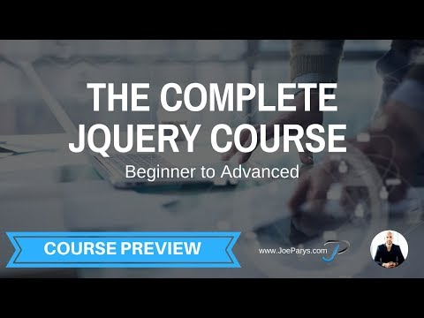 The Complete jQuery Course From Beginner To Advanced Free Preview Video