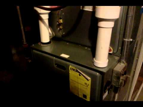 Our Ruud Achiever 90 Plus Furnace Youtube