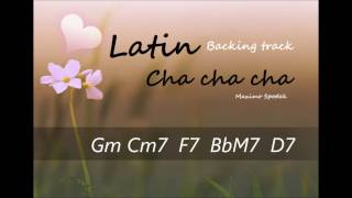 LATIN CHA CHA CHA IN G BACKING TRACK , FOR PRACTICE AND SOLO IMPROVISATION