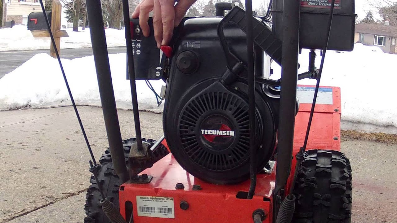 Carburetor Carb for Simplicity Snowblower w//Tecumseh HSK70 7Hp Engine