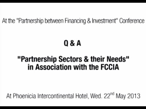 """Q & A - 1st Session: """"Partnership Sectors & Their Need in Association with the FCCIA"""""""