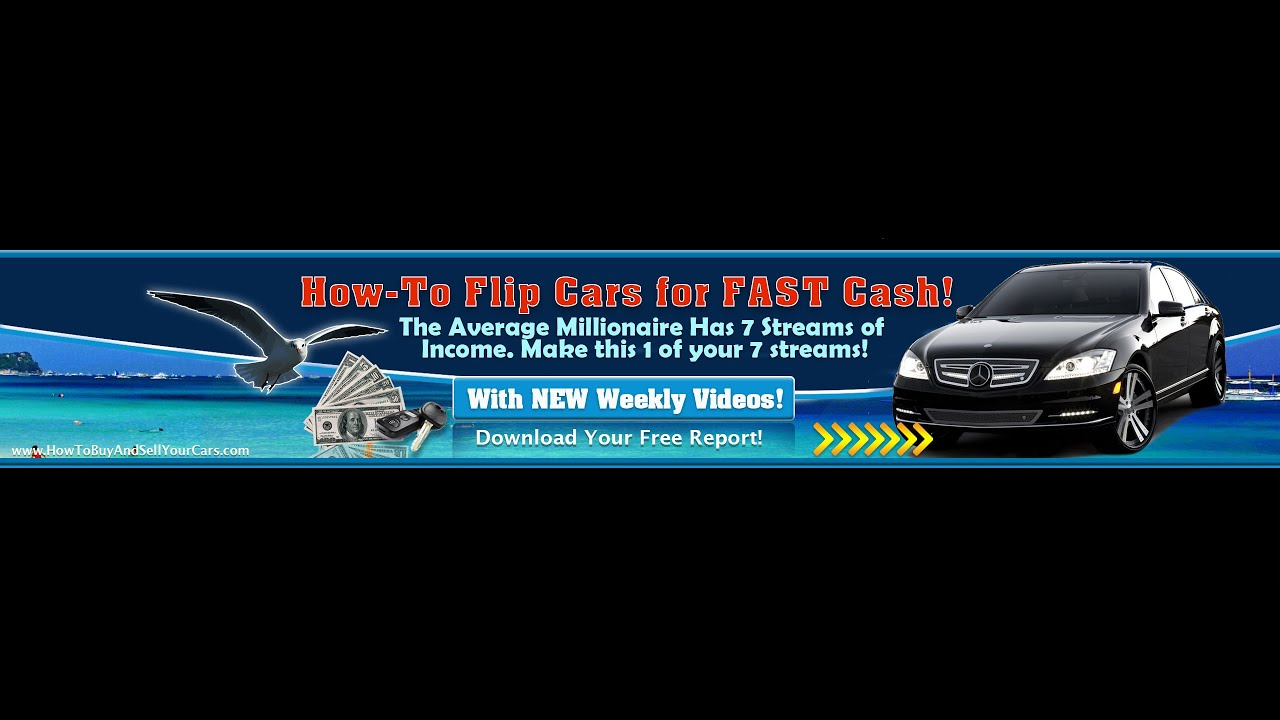 The Car Flip - A Humble $900 and $2,700 Profit on First Car Flips ...