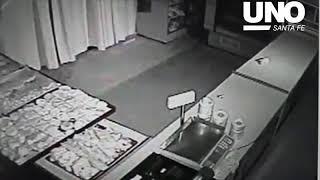 Robo panadería de Mariano Comas