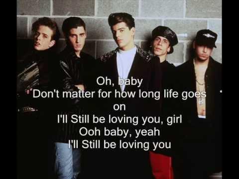 New Kids On The Block I Ll Be Loving You Lyrics