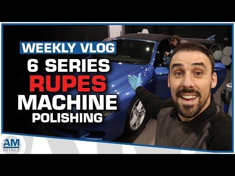 Rupes Machine Polishing - Detailing a BMW 6 Series