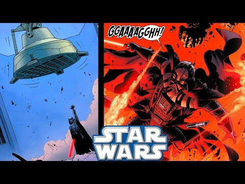 Darth Vader ALMOST Gets KILLED By an AT-AT Walker(CANON) - Star Wars Comics Explained