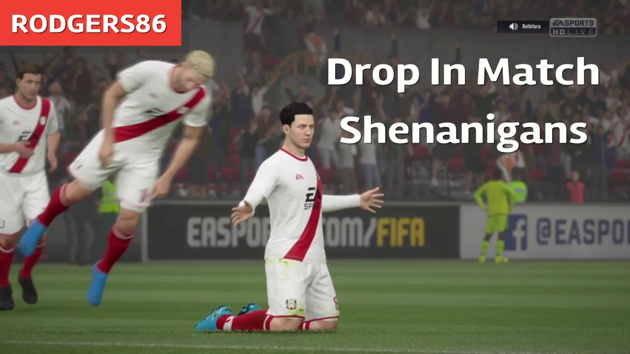 Fifa 17 Drop In Match Shenanigans (Goal Highlights)