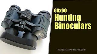 60x60 High Definition Outdoor Hunting Binoculars-Binbirds.com