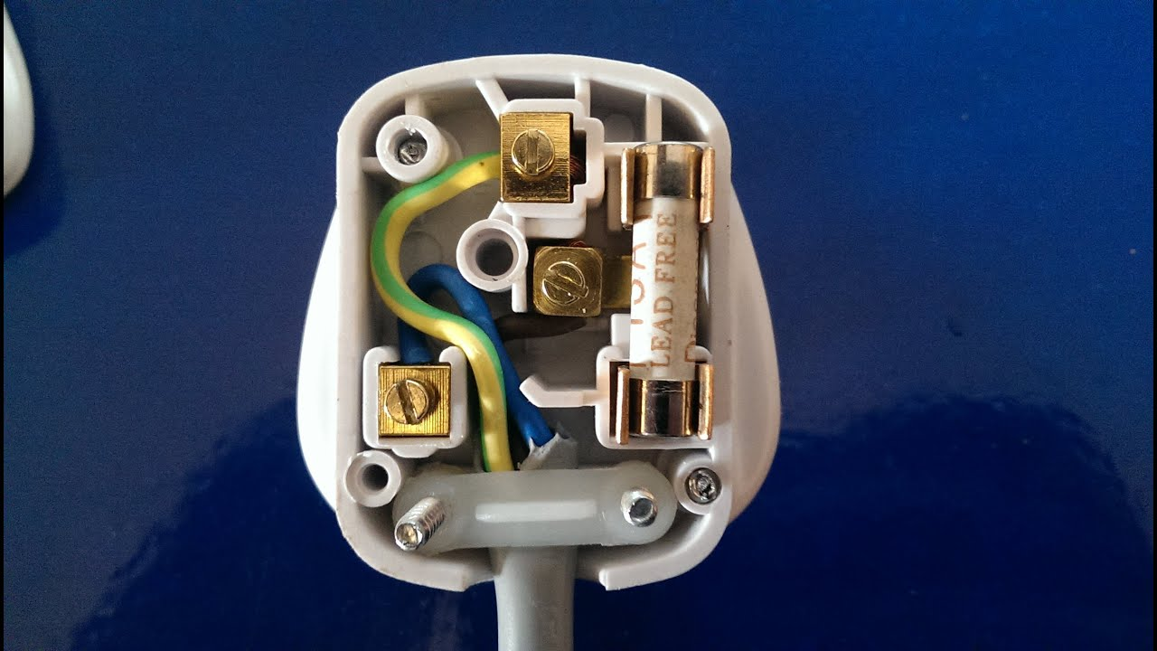 3 pin plug wiring diagram usa for 1996 gas club car golf cart great installation of how to wire a 3pin uk youtube rh com australia
