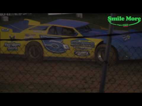 Southern Outlaw Late Models Heat Race Monett Motor Speedway 6.16.17