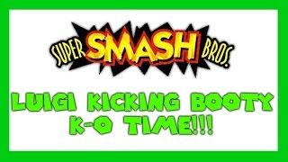 Super Smash Bros - Episode 8 - Luigi Kicking Booty