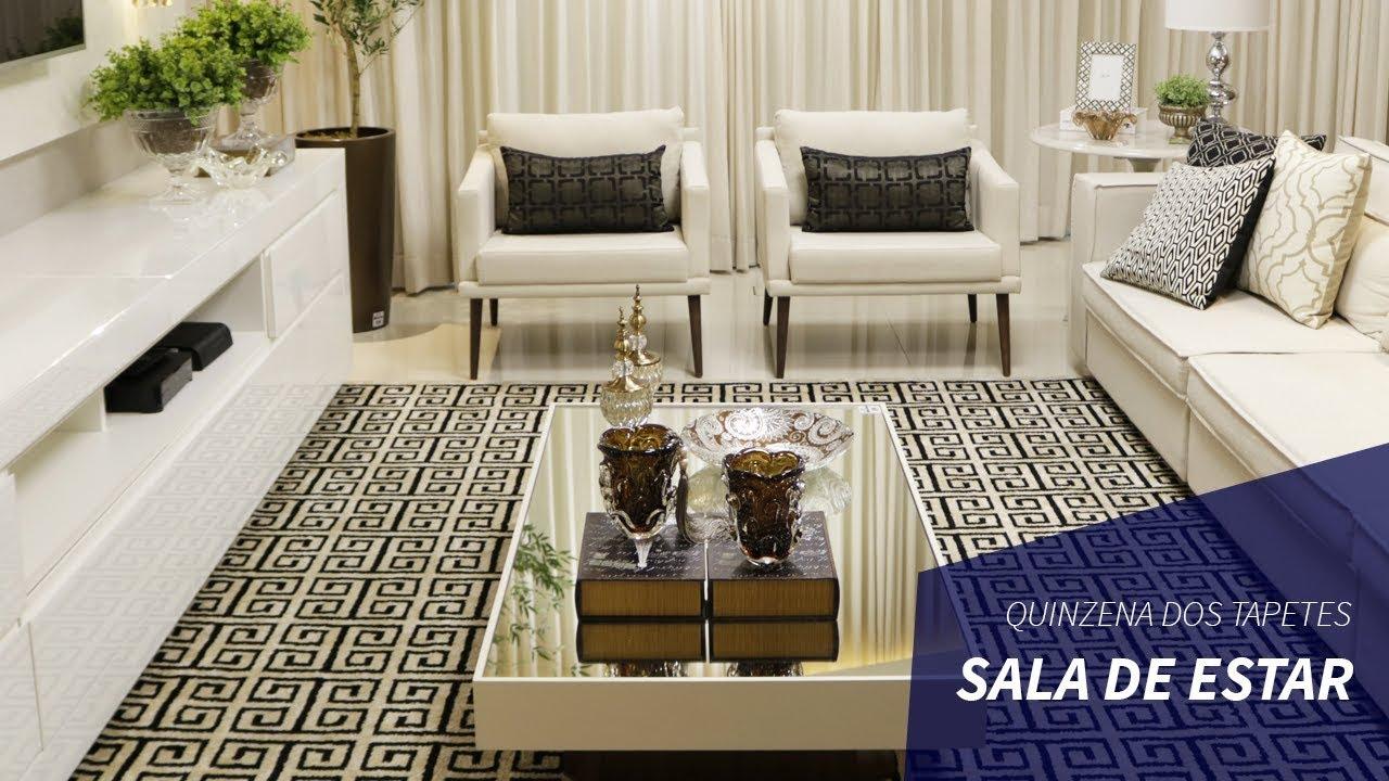 Qual o tamanho ideal do tapete para sala de estar como for Tapetes para sala de estar 150x200