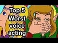 Top 5 - Worst voice acting in gaming